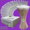 cotton applicator (medical gauze swab, wooden tongue depressor)