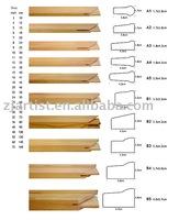 Stretcher bars for artist frames
