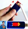 New! Windproof USB Electronic Rechargeable Battery Flameless Cigarette Lighter