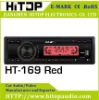 (red light)Car fm mp3 player with USB/SD/MMC slot