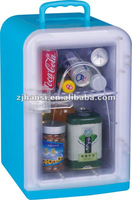 Eco friendly portable mini plastic fridge for picnic