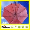 Straight tartan umbrella