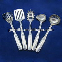 High quality 5pcs stainless steel kitchenware tools