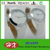 hot sale simple white analog quartz couple wrist lover watch