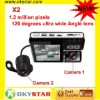 The cheapest X2 support 32 GBTF card 9712 lens CAR DVR