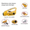 Manufacturer of solar dynamo charge flashlight