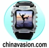 Metallic 1.5 Inch OLED Digital Watch MP4 Player - 2GB