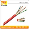 UTP CAT5E 24 awg copper network cable (CMR Jacket)