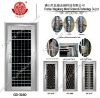 New! Fashionable stainless steel door design GD-3160