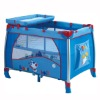 2012 new fashion color aluminum baby play yards