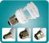 Semi-spiral energy-saving bulb Compact fluorescent lamp