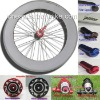 Wholesale Cheap 700C 88mm Clincher Full Carbon Fiber Bicycle Wheel Set 3K UD Bright Matte