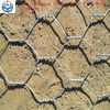 pvc coated or galvanized twisted hexagonal wire mesh(0.4-1.2mm)