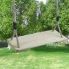 pine wooden swing