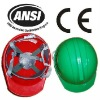 Industrial ABS head protection working helmet ANSI