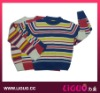 2012 Designed Kid Sweater With Stripe Pattern