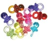 Cheap Wholesale Party Favors Plastic Pacifier for Baby Shower