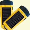 4 led super light solar led flashlight used indoor and outdoor