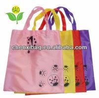 beetle foldable animal polyester shopping bag