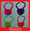 2013 Newest Hot Sale Fluorescent Necklaces Jewelry in Multicolors