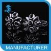 unique dubai alloy silver cufflink top selling produce 2012