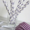 wholesale polka dot paper drinking straws 25pcs purple