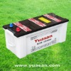 Yuasan Professionally-Producing 12V150AH Lead Acid Dry Charged Car Battery for Starting