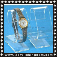 Clear Acrylic Watch Displays Stands Showcases