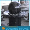 black granite ball fountain