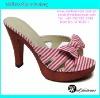 fashion flip flop high heels slippers