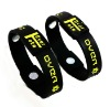 charm silicone hologram ion bracelet with ion energy