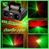 D-130mW light double lens red and green party light