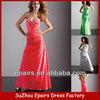 LND29 cheap amazing beaded long silk designer 2013 prom dress