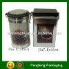 tin box for coffee and tea packaging