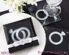 BeterWedding Souvenir wholesale With This Ring - Unique Stackable Glass Coasters_Wedding Favor_Wedding Gift