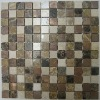 1x1 High Quality Stone Copper Mosaic Tiles