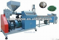 PE/PP film two stage recycling and granulating system