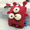 stuffed big eye crab coin purse