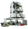 3-layer Co-extrusion Haul-Off rotary film Production line