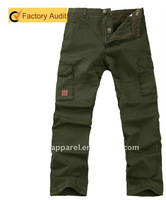 New popular cotton cargo Pants for men