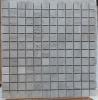 White Wood Vein Marble Mosaic Tiles