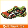 2013 new bright color running shoes