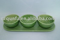 Bakeware Tableware plate and round bowl-AL712/713