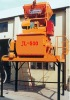 MAICRETE (JL-500)Double-horizontal-shaft forced type concrete mixer