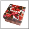 Colorful oblong paper packaging gift box