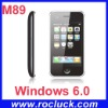 Windows Mobile Phone M89 Quad Band with WIFI and Dual Camera
