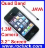 I9+++ Quad Band Dual SIM Mobile Phone with 1.3M Camera