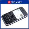 TV Mobile E72Y WIFI JAVA QWERTY Keypad Quad Band Dual Card Dual Camera FM Bluetooth Cell Phone Gray/Black/White #5056