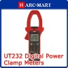 Digital Power Factor Clamp Meter 3 Phase UT232 True RMS Value #6056