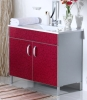 W1102-JS03 Aluminum Vanity Unit with Acrylic Wash Basin